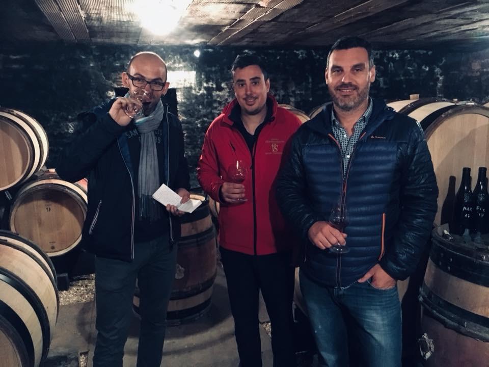 L'equipe My Little Vino et Jérôme SEguin
